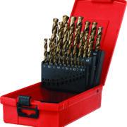 25Pcs hss cobalt twist drill set