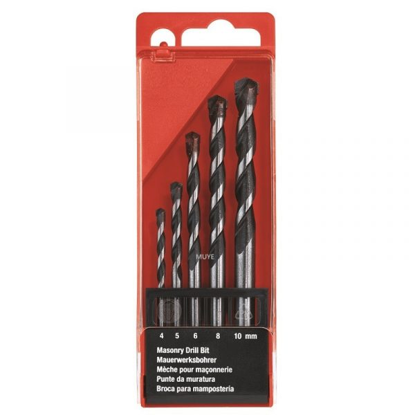 5pcs concrete drill bits set – 3 –